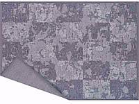 Килим двосторонній шенілл cірий NARMA NORDIK 2-1508 160х230 grey 450