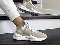 Кроссовки женские  Adidas  Y-3  Kaiwa  бежевые