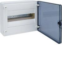 Распределительный щит внешней установки на 12 мод.(1х12), GOLF, с прозрачной дверцей, фото 1