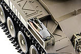 Танк на радиоуправлении 1:16 Heng Long Bulldog M41A3 с пневмопушкой и и/к боем (Upgrade), фото 10