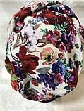Летняя разноцветная бандана-шапка-косынка-чалма-тюрбан, фото 9