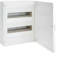 Розподільчий щит зовнішньої установки на 24 мод.(2х12), GOLF, з білими дверцятами, фото 1