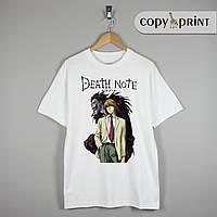 Футболка Аниме: Death Note (Тетрадь смерти №3)