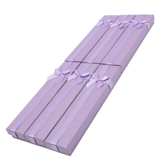 Коробочка подарочная для украшений Boxshop #box2-1 Фиолетовый