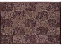 Килим двосторонній шенілл коричневий NARMA NORDIK 2-1508 160х230 carbon 590