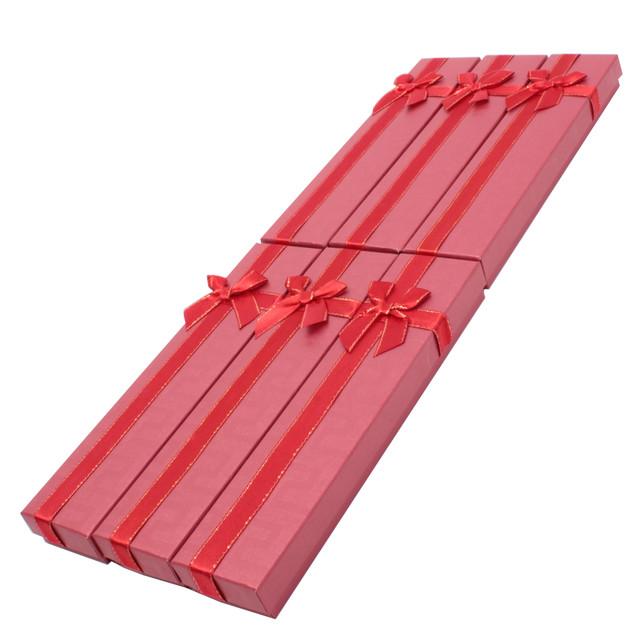 Коробочка подарочная для украшений Boxshop #box2-1 Красный