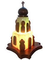 """Соляная лампа """"Церковь""""4-5 кг"""