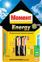 Батарейки MOMENT ENERGY 2xAAA Henkel