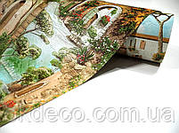 Обои виниловые на бумажной основе Expromt 5582-01 В49,4 Дворик, фото 2
