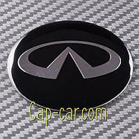 Наклейки для дисков с эмблемой Infiniti. ( Инфинити ) Цена указана за комплект из 4-х штук