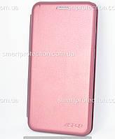 Чехол книжка для Meizu M6T бордовый