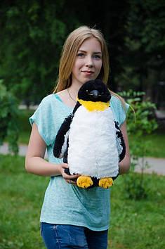 Плюшевый королевский пингвин 45 см