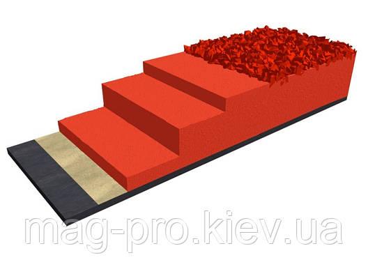 Бесшовное резиновое покрытие для беговых дорожек EPUFLOOR BM 1, фото 2