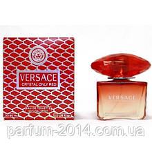 Жіноча туалетна вода Versace Crystal Only Red (репліка)
