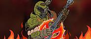Стреляйте во врагов под запилы гитары — представлен шутер в стиле ритм-игры от автора Q.U.B.E.