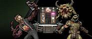 В Doom Eternal с бесплатным обновлением появился демон-хипстер. Он еще и бариста