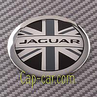Наклейки для дисків з емблемою Jaguar. ( Ягуар ) Ціна вказана за комплект з 4-х штук