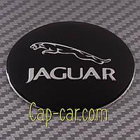 Наклейки для дисков с эмблемой Jaguar. ( Ягуар ) Цена указана за комплект из 4-х штук