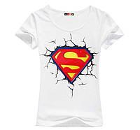 Стильная женская футболка Superman