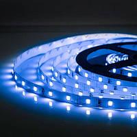 5м Світлодіодна LED стрічка 60smd 2835 12v Синя, негерметична
