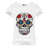 Стильна жіноча футболка з черепом