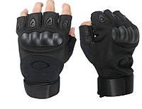Тактические перчатки безпалые Oakley армейские (L,ХL)