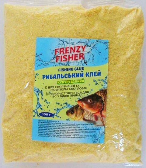 Клей Frenzy Fisher 100 гр рыболовный кукурузно-пшеничный