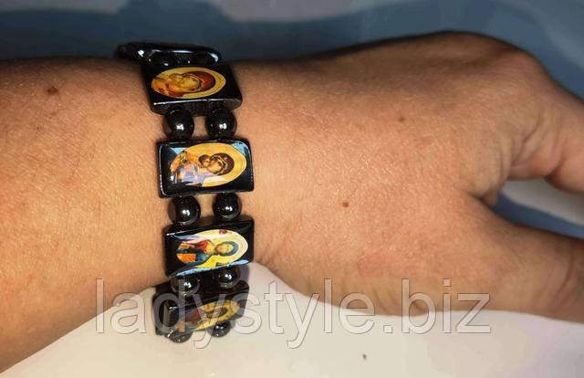 гематит браслет для чоловіка купити подарунок прикраси лікування