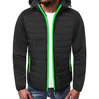 Куртка осенняя мужская J.Style TY-12 черная L