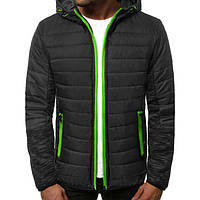 Куртка осенняя мужская J.Style TY-27 черная XXL