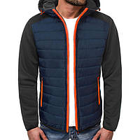 Куртка осенняя мужская J.Style TY-12 синяя XXL