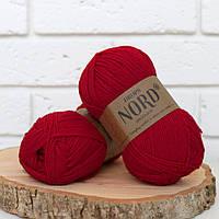 Пряжа Drops Nord - red, 14