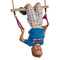 Трапеція з трикутними кільцями для дитячого майданчика