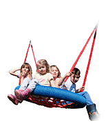 Гойдалки Гніздо лелеки 120 см, комерційне для громадських майданчиків