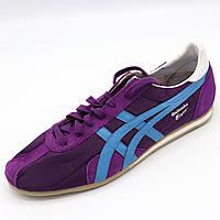 Кроссовки мужскиелетние повседневные Фиолетово-голубой цвет, Размер 45 (сток)