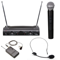 Радиосистема Big Ut42-2 (Один Ручной + Один Петличный Микрофон)