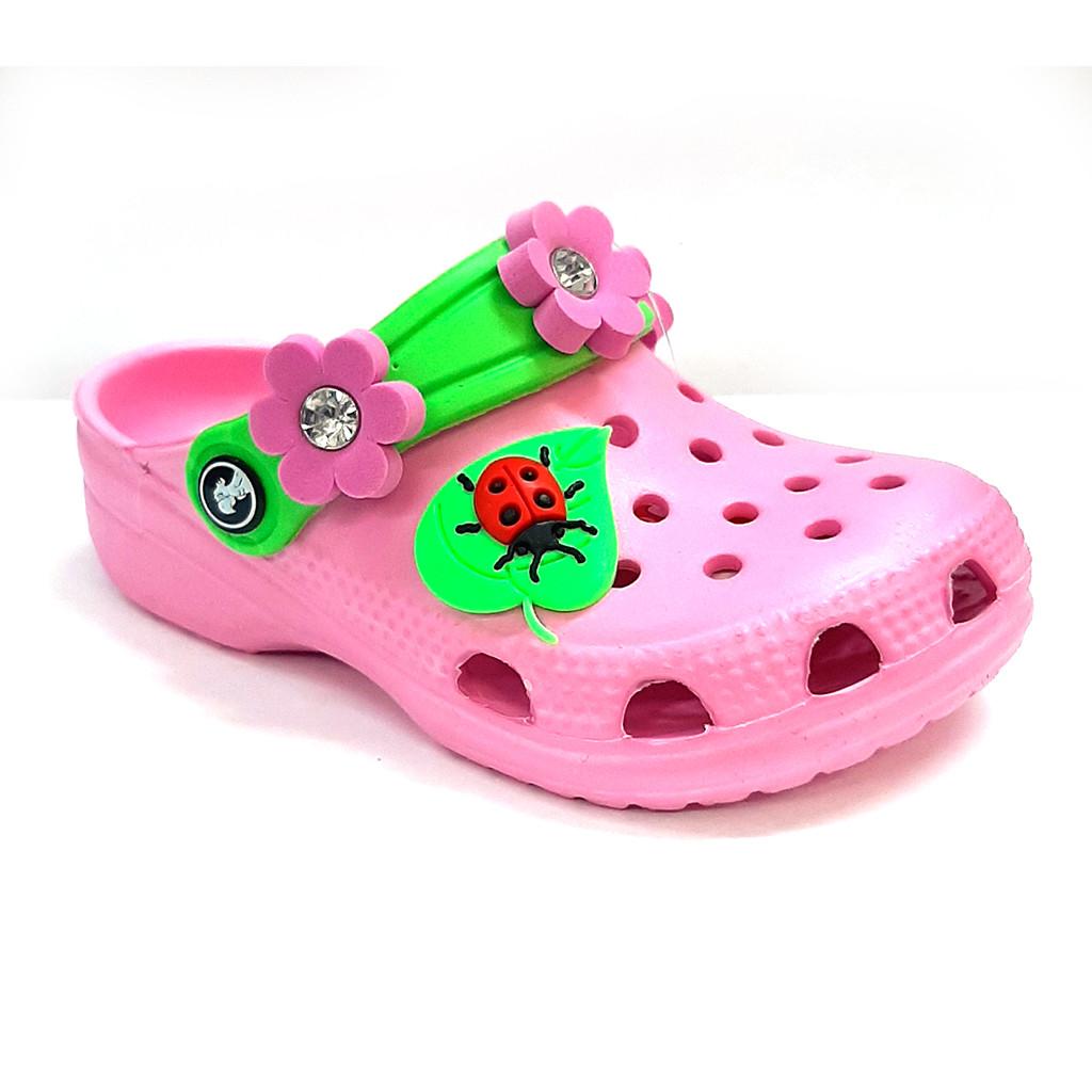 Розовые кроксы для девочки  от Jose Amorales, размер 22/23 из пены ЭВА