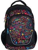 Молодежный рюкзак с абстракцией PASO 24L, BDE-367