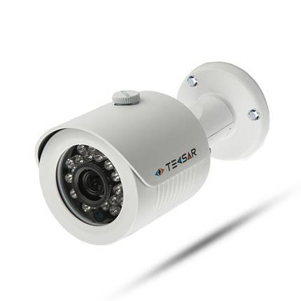 Комплект проводного видеонаблюдения Tecsar 8OUT, фото 2