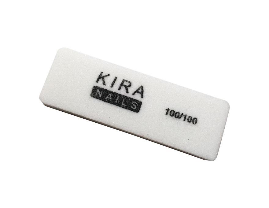Kira Бафф-шліфувальник 100/100 білий 4-х сторонній