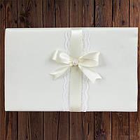 Свадебная книга для пожеланий, айвори цвет (арт. 0796-12)