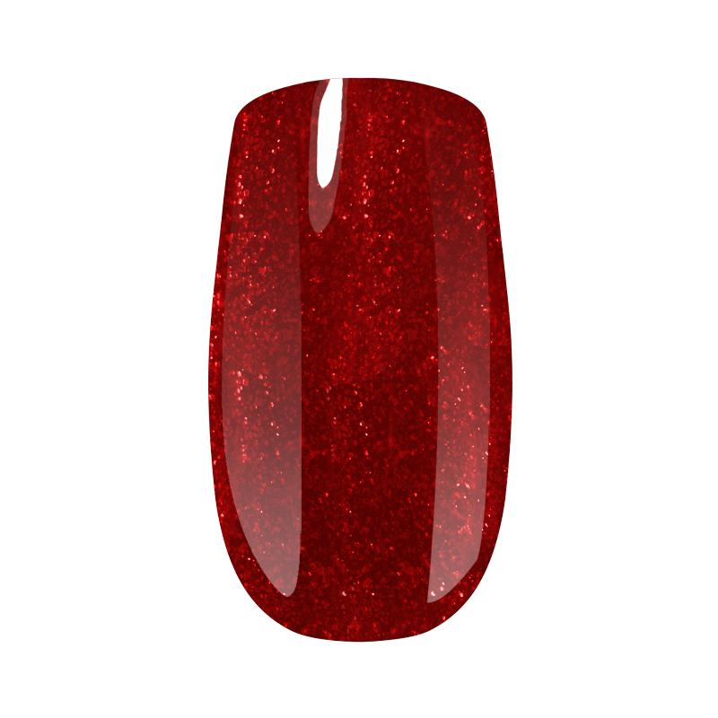 Гель-лак Saba (5 г) №014 (красный с блестками)