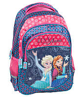 Школьный рюкзак Frozen Anna and Elsa Paso DRF-181