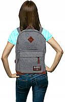 Городской рюкзак PASO 22L, 19-229S серого цвета