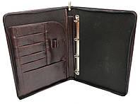 Папка для документов из эко кожи Exclusive 715300 коричневая
