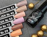 Гель-лак Saba (5 г) №009 (светло-коричневый), фото 2