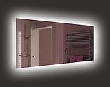 Дзеркало з Led підсвіткою 500 x 1000 мм / Зеркало с Led подсветкой 500 x 1000 мм, фото 2