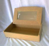 Шкатулка с зеркалом 27,5х16х6,5 см мдф заготовка для декора №002