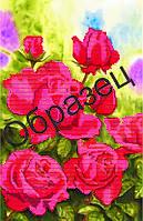 """Схема для частичной вышивки """"Красные розы"""""""
