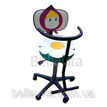 Детское парикмахерское кресло с аппликацией